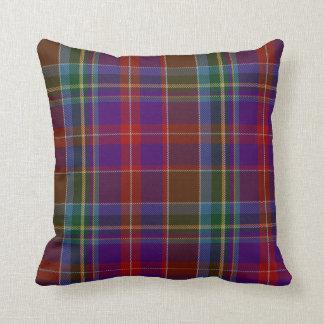 Traditional Stuart Tartan Plaid Pillow