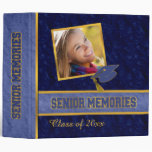 Traditional Style Class Senior Memories 3 Ring Binders
