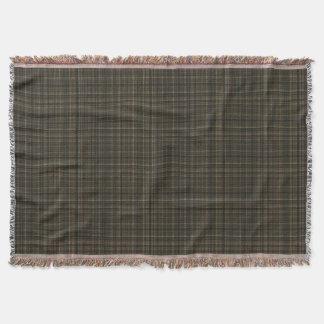 Traditional Tartan Throw Blanket, Scottish Clan