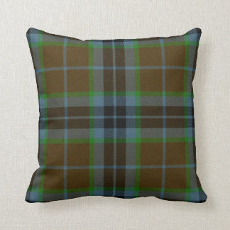 Traditional Thomson Tartan Plaid Pillow