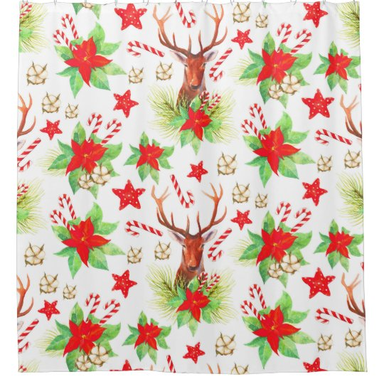 Traditional Vintage Christmas Pattern