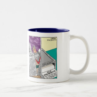 Traditional vs. Agile Requirements Two-Tone Coffee Mug