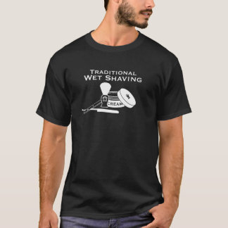 Traditional Wet Shaving Straight Razor - Dark Tee