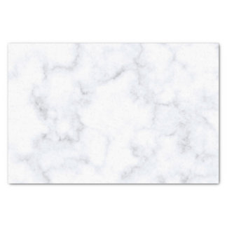 Traditional White Marble Tissue Paper