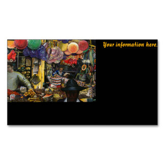 Traditions of Ancient Commerce, Jerusalem Business Card Magnet