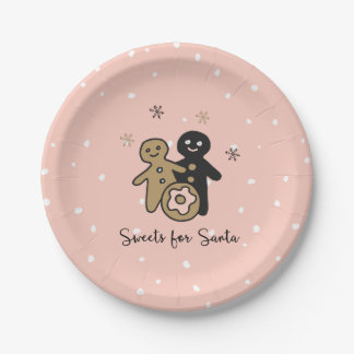 Traditions of Christmas | Sweets for Santa Paper Plate