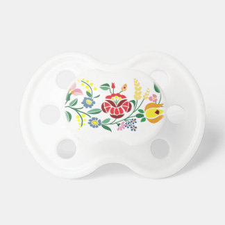 Traditonal Hungarian Embroidery 0-6 months BooginH Pacifier
