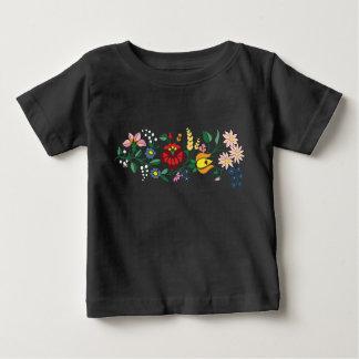 Traditonal Hungarian Embroidery baby t-shirt