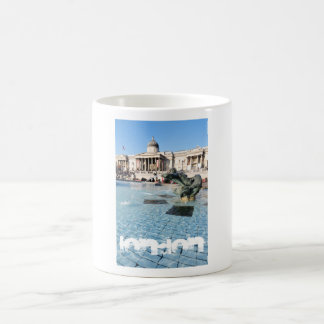 Trafalgar Square in London, UK Coffee Mug
