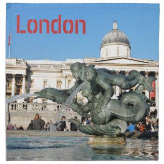 Trafalgar Square in London, UK Napkin