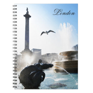 Trafalgar Square in London, UK Notebooks