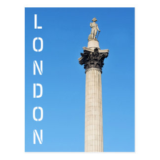 Trafalgar Square in London, UK Postcard