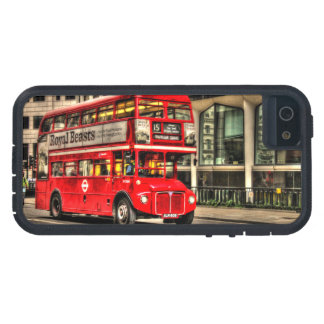 Trafalgar Square London Double Decker Bus Case For The iPhone 5