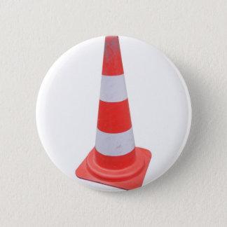 Traffic cone 2 inch round button