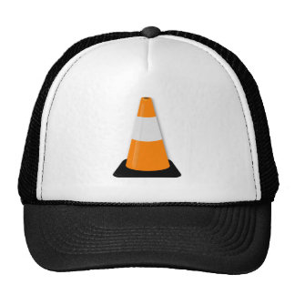 Traffic Cone Mesh Hats
