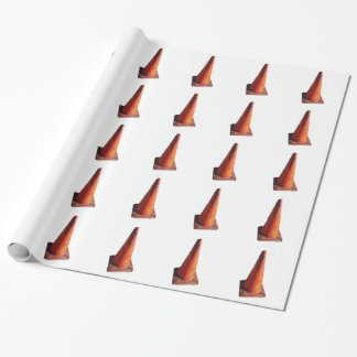 Traffic Cone Wrapping Paper