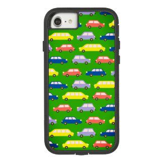 Traffic Jam Colorful Bold Car Cartoon Retro Bright Case-Mate Tough Extreme iPhone 7 Case