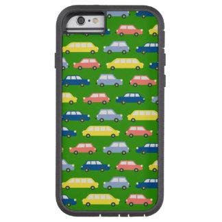 Traffic Jam Colorful Cars Cartoon Retro Tough Xtreme iPhone 6 Case