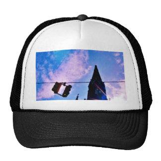 Traffic Light and Steeple Trucker Hat