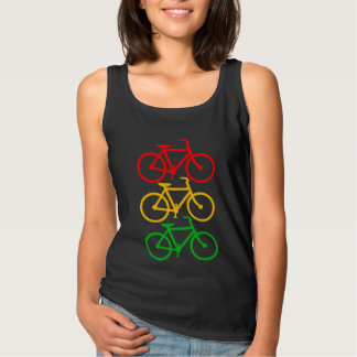Traffic Light Bikes Tank Top