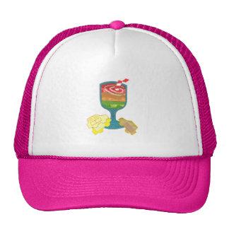 Traffic Light Milkshake Baseball Cap Trucker Hat