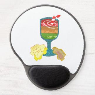 Traffic Light Milkshake Gel Mousepad