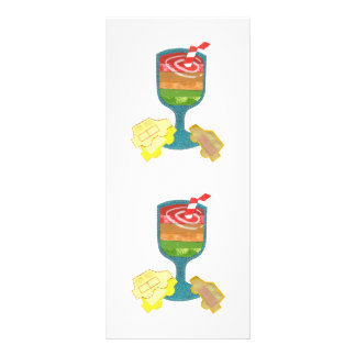 Traffic Light Milkshake Rackcards Customized Rack Card