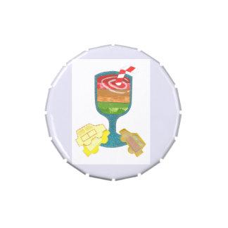 Traffic Light Milkshakes Jellybean Tub Candy Tins