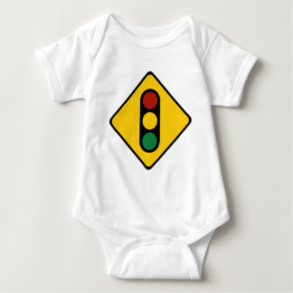Traffic Light Sign Baby Bodysuit
