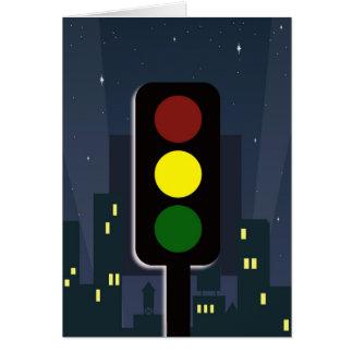 Traffic lights! card