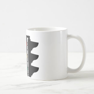 Traffic Lights Street Sign Coffee Mug
