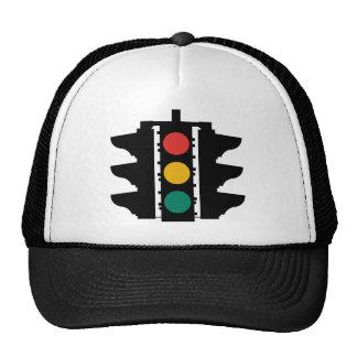 Traffic Lights Street Sign Mesh Hat
