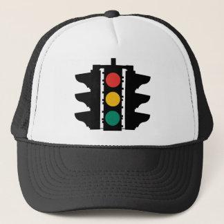 Traffic Lights Street Sign Trucker Hat