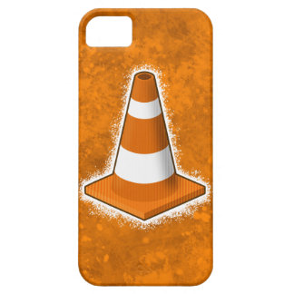 Traffic Safety Cone Splatter iPhone 5 Cases