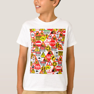 Traffic signs shirt - choose style & color