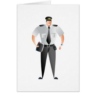 Traffic Warden Card