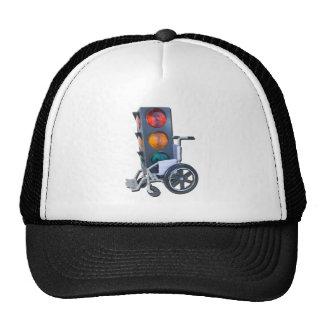 TrafficLightWheelchair052215 Trucker Hat