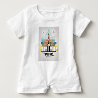 TRAFFORD, MANCHESTER BABY ROMPER