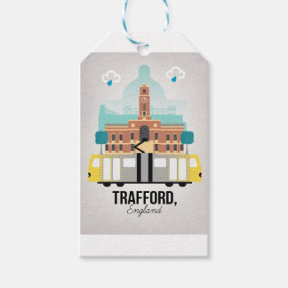 TRAFFORD, MANCHESTER GIFT TAGS