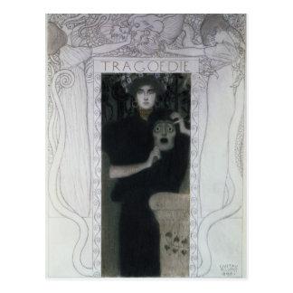 Tragedy, 1897 postcard
