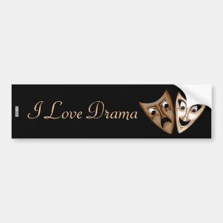 Tragedy & Comedy Bumper Stickers