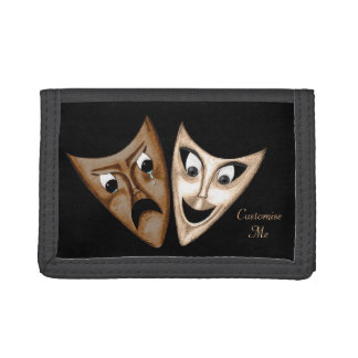 Tragedy & Comedy Trifold Wallet