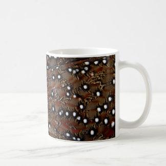 Tragopan Breast Feather Abstract Coffee Mug