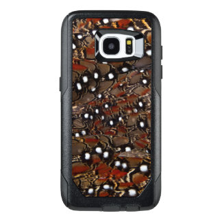Tragopan Breast Feather Abstract OtterBox Samsung Galaxy S7 Edge Case