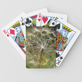 Tragopogon Flower Salsify Bicycle Playing Cards