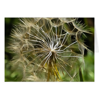 Tragopogon Flower Salsify Card