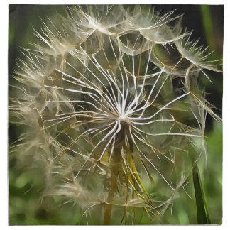 Tragopogon Flower Salsify Napkin