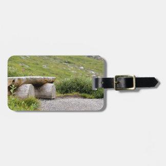 Trail Bench editbench Luggage Tag