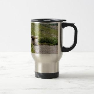 Trail Bench editbench Travel Mug