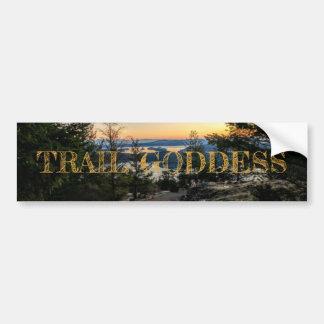 Trail Goddess Bumper Sticker